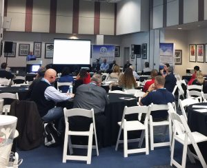 VP Business Development at Pinnacle Propane Harris Baker discussed his company's experiences in the alternative fuel industry at the AFV Summit.