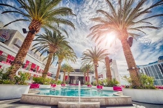 Fountain in Las Vegas