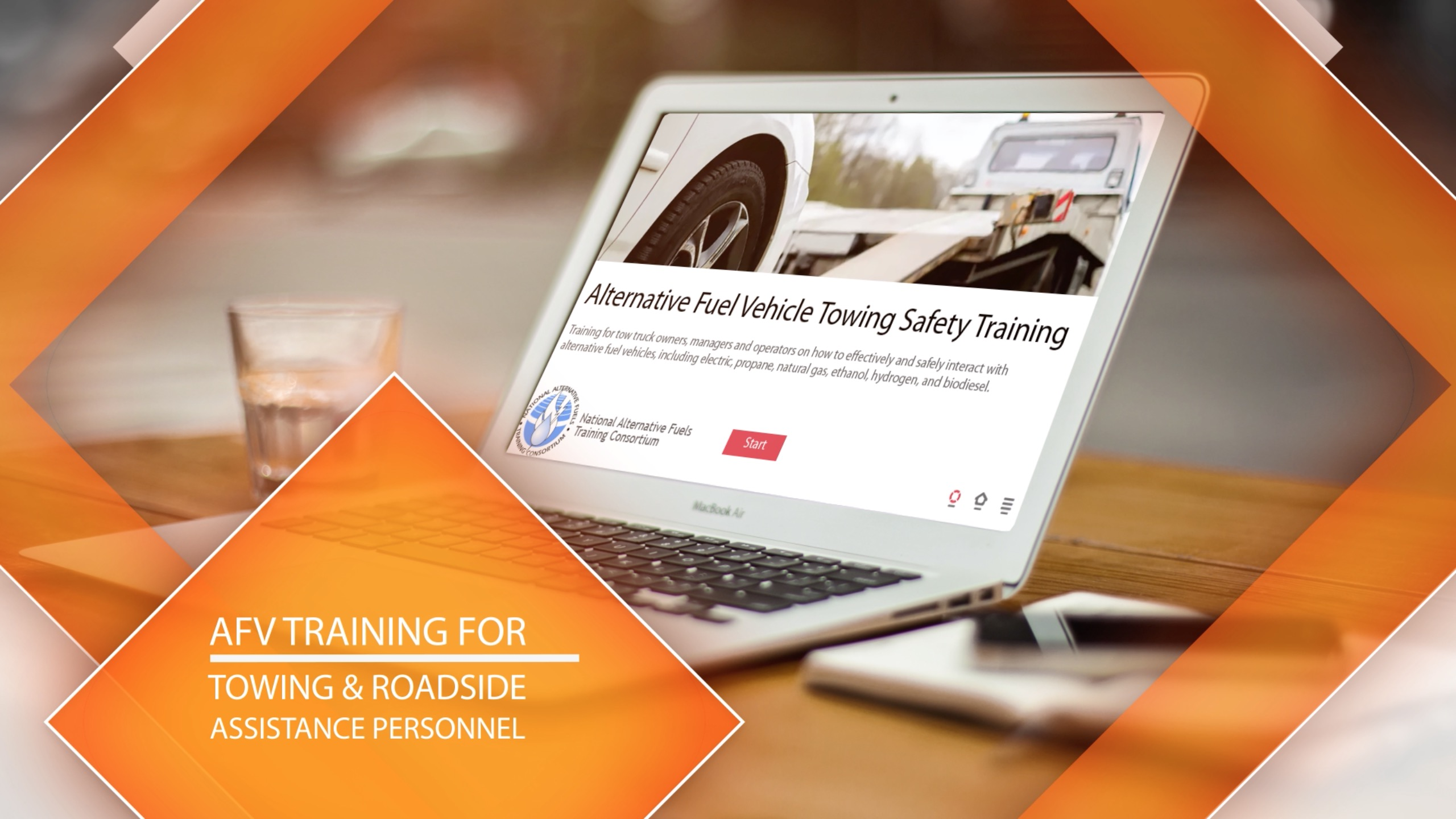 Alternative Fuel Vehicle Towing and Roadside Assistance Training Image