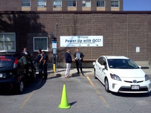 Quinsigamond Community College Receives Electric Vehicle Charging Station June 2012