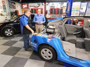 NAFTC Featured on 'Goss' Garage – Motorweek