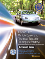 CTE Advanced Electric Drive Automotive Technician Training Image